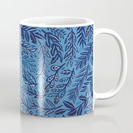 Blue Branches Coffee Mug