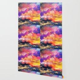 lollipop sunset Wallpaper