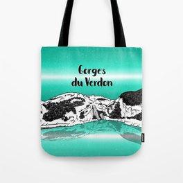 Verdon Gorge Tote Bag