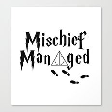 HP shirt Canvas Print