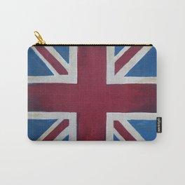Union Jack Antique Carry-All Pouch