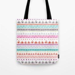Half Full Stripe Tote Bag