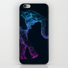 elephant_003_color iPhone Skin