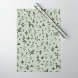 Medieval Dingus Party Wrapping Paper
