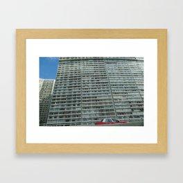 HK eastern corridor Framed Art Print