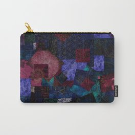 Bohemian Patchwork Hippie Festival Carry-All Pouch