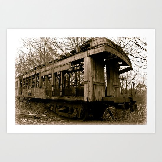 Jim Crow Car #109 Art Print