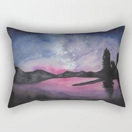 The Nightman Painteth Rectangular Pillow