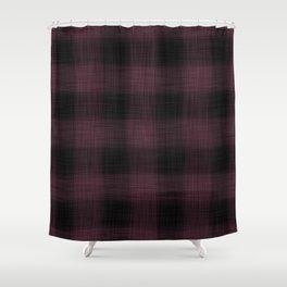 FrostburgPlaid 09 Shower Curtain