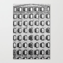 Holes In A Wall Canvas Print
