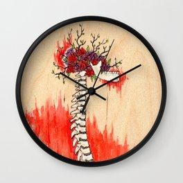 Amantes II Wall Clock