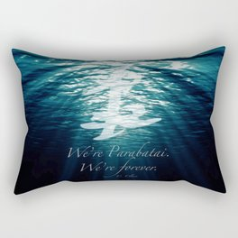 Shadow - Forever parabatai Rectangular Pillow