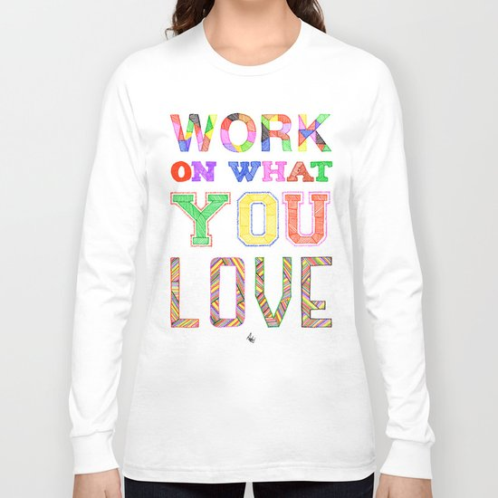 Life & Love Long Sleeve T-shirt