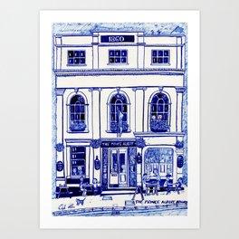 The Prince Albert, Brighton Art Print