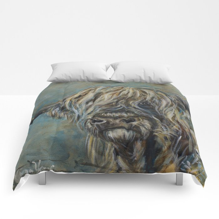 Highland Coo Comforters