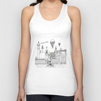 stockholm Tank Tops featuring Stockholm by Adam Lindfors