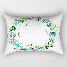Turquoise and Caicos Rectangular Pillow