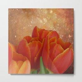 Tulip Sparkle Metal Print