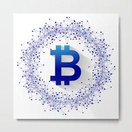 Bitcoin 5 Metal Print