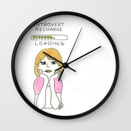 introvert loading Wall Clock