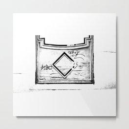 Madera vieja (Old wooden) Metal Print