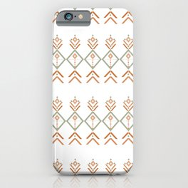 Maternity symbol in pattern iPhone Case