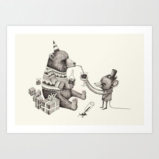 'Excessmas - Part 1' Art Print