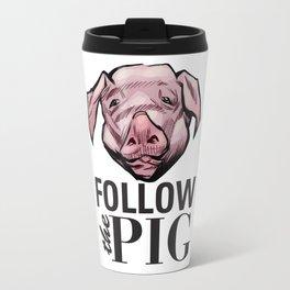 DSA - Follow the Pig Travel Mug
