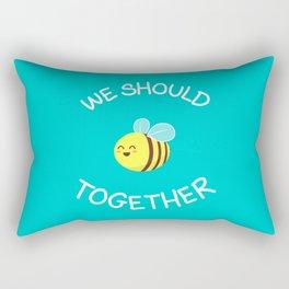 A bug's love life Rectangular Pillow