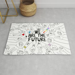 We Are The Future Tattoos Part 1 Rug