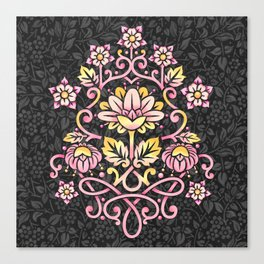 Damask Rose Canvas Print