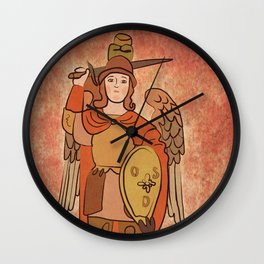 San Miguel Archangel Wall Clock