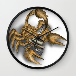 Texas Scorpion Wall Clock