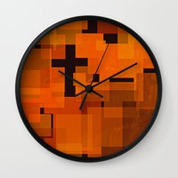 justin timberlake Wall Clocks featuring JUSTIN by Stephanie Eades