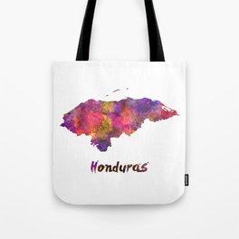Honduras  in watercolor Tote Bag