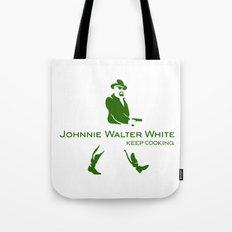 Johnnie Walter White Tote Bag