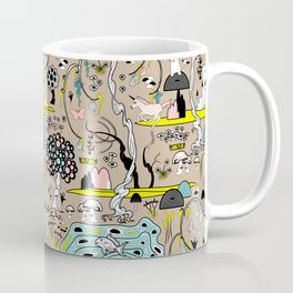 Magical Garden (Beige) Coffee Mug