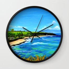 Hoʻokipa Noon Wall Clock