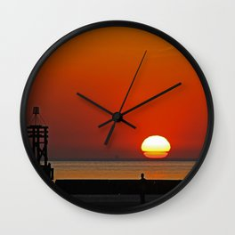 Another place Sunset Wall Clock