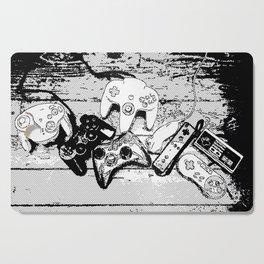 Joysticks collection Cutting Board