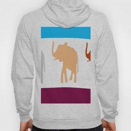 sumatera elephants Hoody