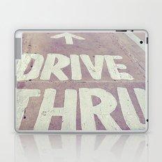drive thru Laptop & iPad Skin