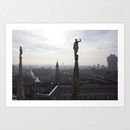 The Sentinels of Milan Art Print
