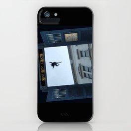 Tardis Jump iPhone Case