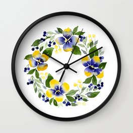 You're Such A Pansy Wall Clock