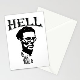 Hell Is This World | Aldous Leonard Huxley Stationery Cards