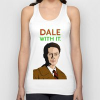 dale cooper Tank Tops featuring DALE WITH IT. by Chris Piascik