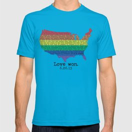 Love won T-shirt
