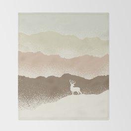 Quietude (II) Throw Blanket