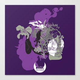 Inflorescencia Canvas Print